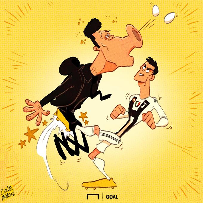 C. Ronaldo được ví như Thánh sống, Quái vật - 6