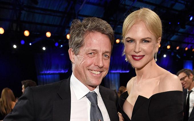Tài tử người Anh Hugh Grant và thiên nga Australia Nicole Kidman đóng vai vợ chồng trong The Undoing.