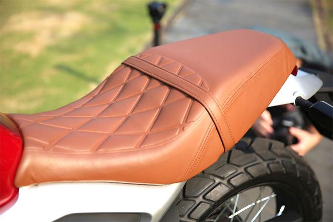 Môtô thiết kế hoài cổ giá rẻ Honda CB190SS - 11