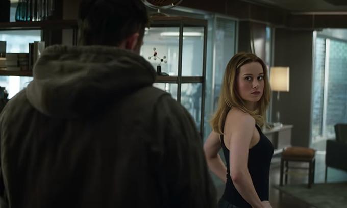 Captain Marvel chính thức lộ diện trong phần cuối của Avengers.