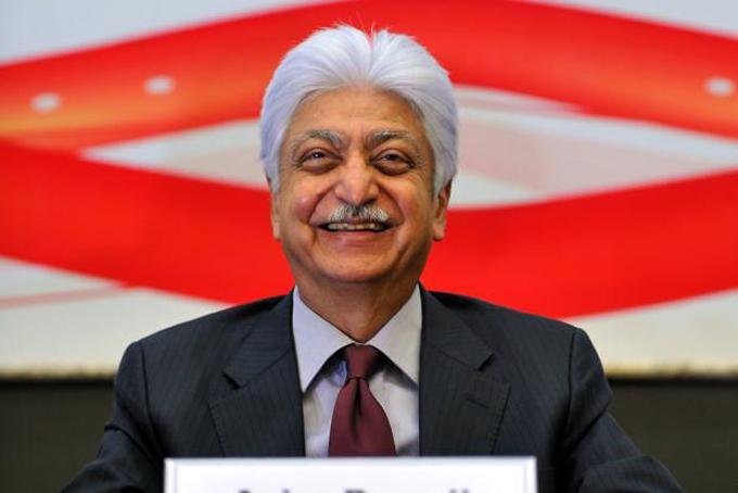 Azim Premji, Chủ tịch tập đoàn công nghệ Wipro. Ảnh: Livemint.