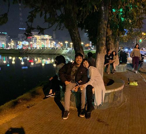 Cát Phượng ngọt ngào bên Kiều Minh Tuấn ở Đà Lạt - 1