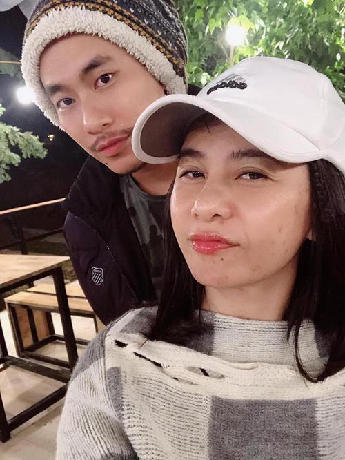 Cát Phượng ngọt ngào bên Kiều Minh Tuấn ở Đà Lạt - 2