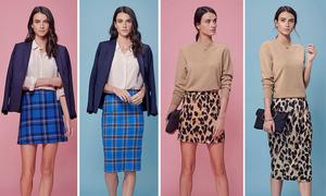 Sự khác biệt khi mặc váy ngắn và midi