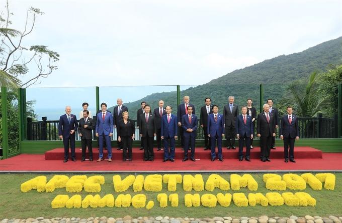 Các chính khách nổi tiếng thế giới trong cuộc họp Apec tại Đà Nẵng 2018.