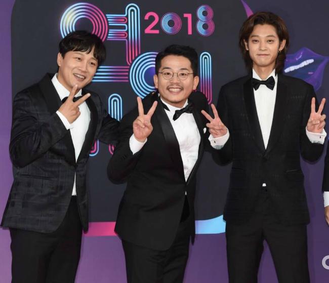 Cha Tae Hyun, Kim Jun Ho và Jung Joon Young, những gương mặt chính của show 2 ngày 1 đêm.