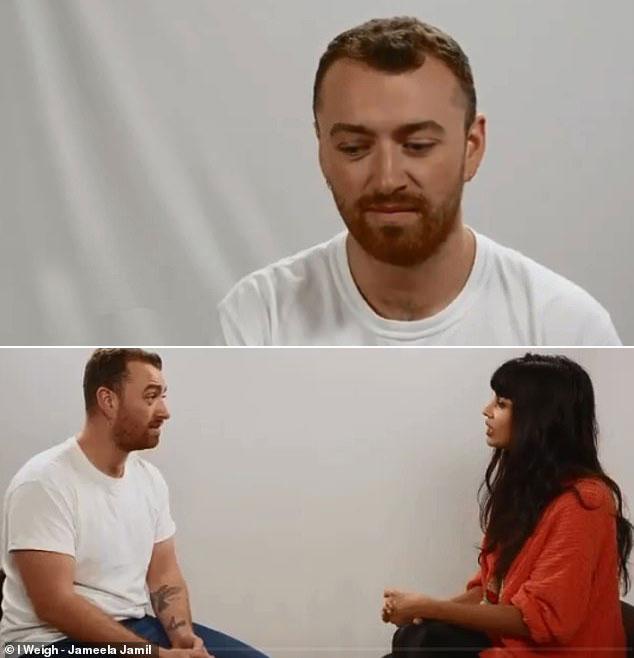 Sam Smith trong cuộc phỏng vấn hôm 15/3.