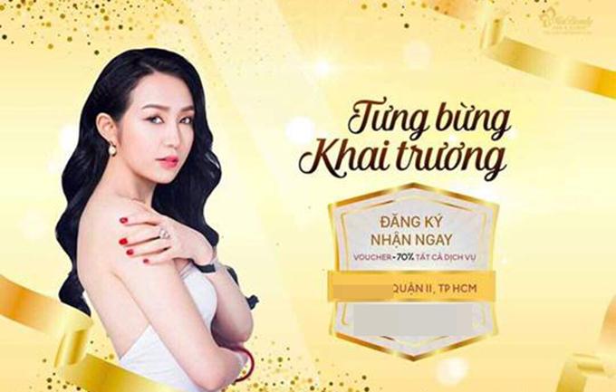 Tuấn Hưng bức xúc về một cửa hàng spa ở TP HCM sử dụng hình ảnh bà xã Thu Hương trái phép.