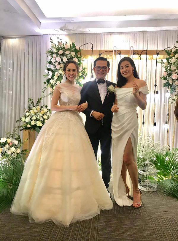 NSND Trung Hiếu và  vợ kém 19 tuổi làm tiệc cưới tại quê nhà Thái Bình - 7