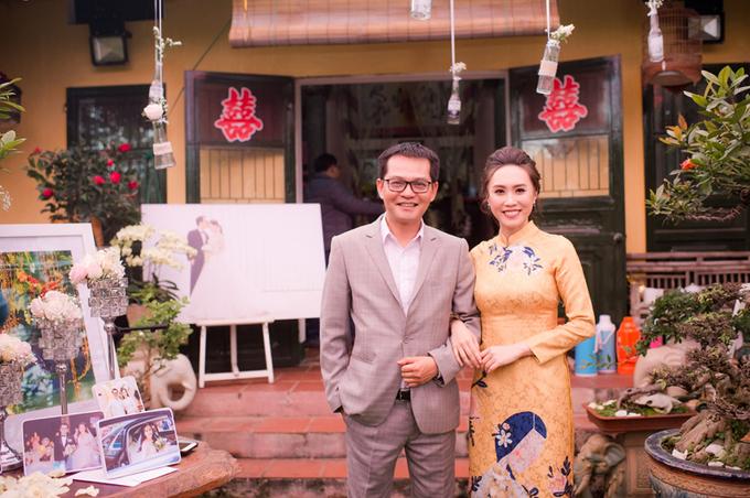 Tiệc cưới đơn giản của NSND Trung Hiếu ở Thái Bình