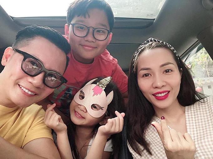 Gia đình hạnh phúc của Hoàng Bách - Thanh Thảo.