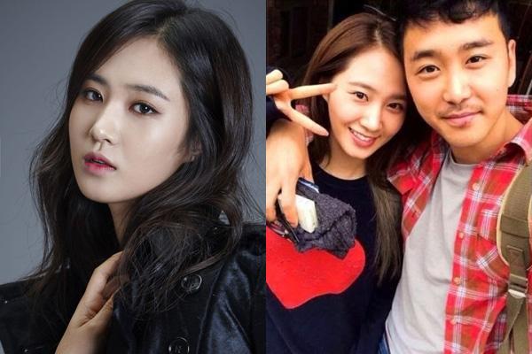 Yuri và anh trai Kwon Huyk Jun.