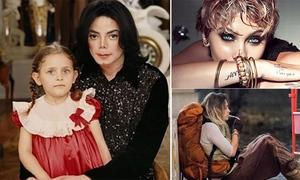 10 năm sóng gió của con gái Michael Jackson từ ngày bố mất