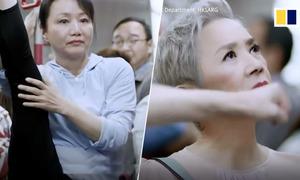 Sao gạo cội Hong Kong làm video mỉa mai hành vi xấu trên tàu điện ngầm