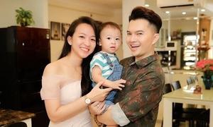 Nam Cường: 'Tôi thấy vợ đẹp hơn khi mang bầu lần hai'