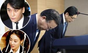 Hai bộ trưởng Hàn cúi đầu xin lỗi vì loạt scandal tình dục