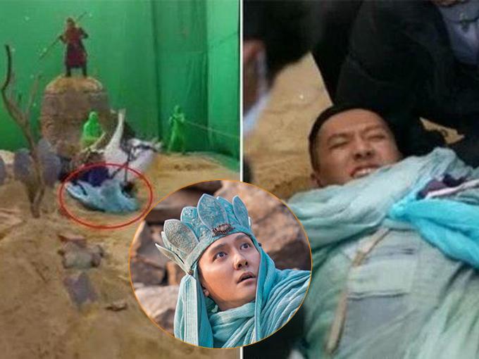 Trên phim trường Ba lần đánh Bạch Cốt Tinh năm 2015, Phùng Thiệu Phong đột ngột rơi khỏi lưng ngựa, bị con ngựa nặng 550 kg cùng nhiều đạo cụ khác đè lên người. Anh ngất xỉu ngay tại chỗ và được đưa đi cấp cứu.