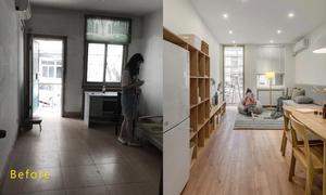 Nhà tập thể cũ được cải tạo thành không gian sống toàn góc 'sống ảo'