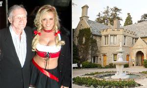 Bạn gái cũ Hugh Hefner nhìn thấy bóng ma trong biệt thự Playboy