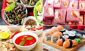 Ngoài thịt lợn, nhiều loại thực phẩm cũng nguy cơ sán tiềm ẩn
