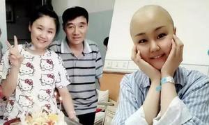 Bố từ chối điều trị ung thư phổi để cứu con gái bị ung thư hạch