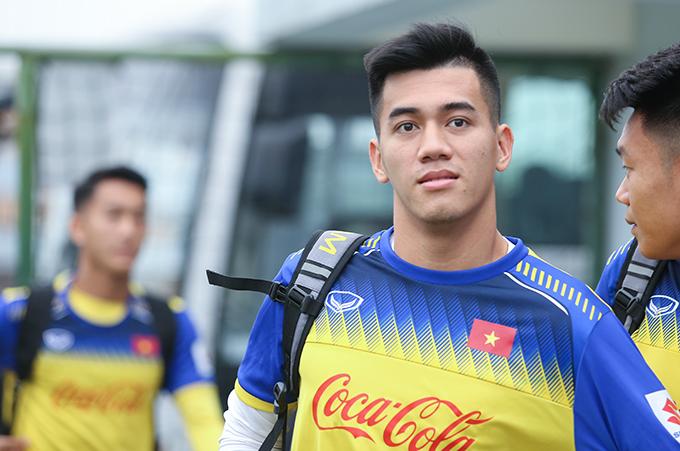 Tiến Linh phải chia tay U23 Việt Nam vì không kịp hồi phục chấn thương. Ảnh: Đương Phạm.