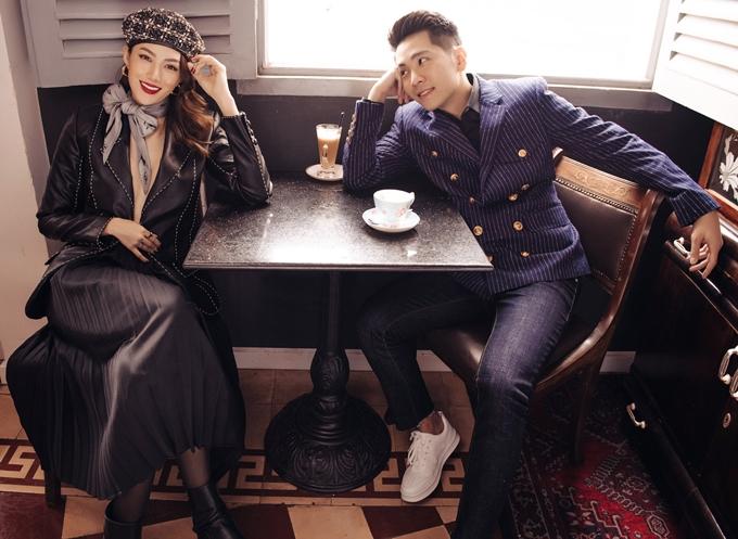 Người mẫu Lê Hà The Face và bạn trai