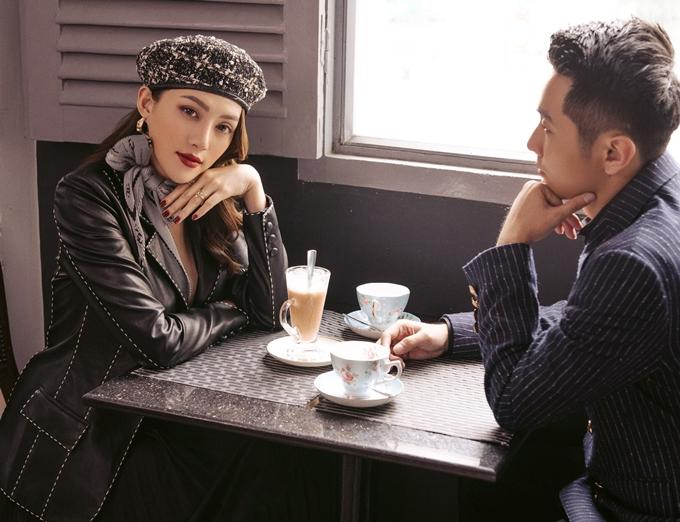 Lê Hà thừa nhận chuyện vợ chồng cô giận hờn nhau là chuyện không thể tránh khỏi như bao cặp đôi khác.