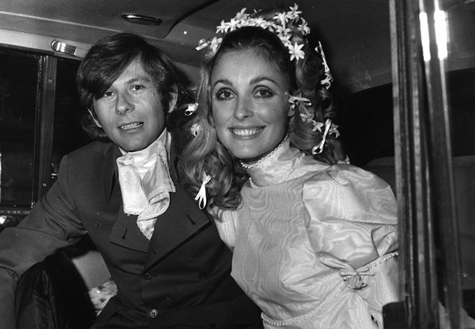 Yêu nhau một thời gian ngắn, Sharon Tate và Roman Polanski kết hôn vào tháng 1/1968.