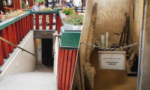 Hầm trú bom ít người được tiếp cận dưới khách sạn Metropole Hà Nội