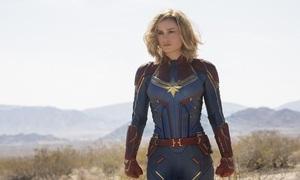 Brie Larson tập luyện hà khắc để vào vai mỹ nhân Captain Marvel