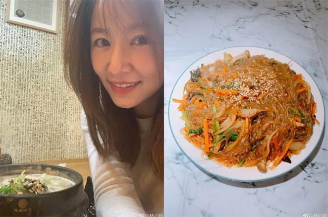 Lâm Tâm Như thường xuyên tự vào bếp.