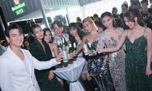 Heineken Silver chinh phục nhiều sao Việt trong đêm ra mắt