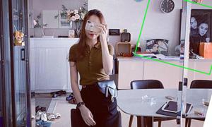Ảnh sao 24/3: Đàm Thu Trang hé lộ tổ ấm chung với Cường Đôla