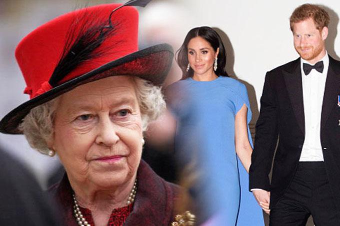 Nữ hoàng và Thái tử Charles lo sợ nhà Sussex có thể sẽ làm điều mình muốn nếu như được tách biệt hoàn toàn khỏi Điện Buckingham và Điện Kensington. Ảnh: Daily Star.