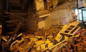 Nhà hai tầng ở Thanh Hoá đổ sập 'như bom nổ'