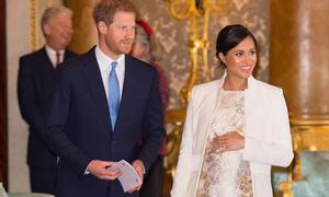 Meghan 'sẽ sinh con tại khoa sản Lindo Wing giống chị dâu Kate'