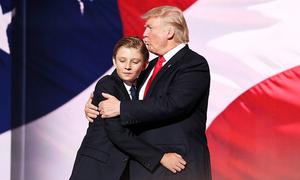 13 sự thật về con trai út của Donald Trump