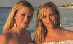 43 tuổi, Reese Witherspoon trẻ ngang cô con gái 19 nhờ ba thói quen tốt