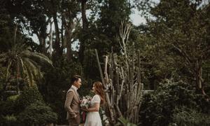 Ảnh cưới 'lạ mà quen' được chụp ở Thảo Cầm Viên