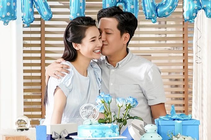 Vợ chồng Trường Giang - Nhã Phương xuất hiện trong một dự án mới đây sau tin đồn sinh con gái.