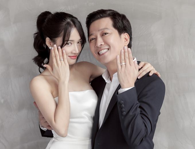 Vợ chồng Trường Giang - Nhã Phương.