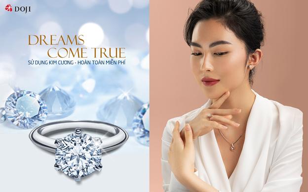 Mỗi viên kim cương DOJI đều trải qua quá trình kiểm định quốc tế GIA, IGI... đảm bảo về giá trị cũng như chất lượng.