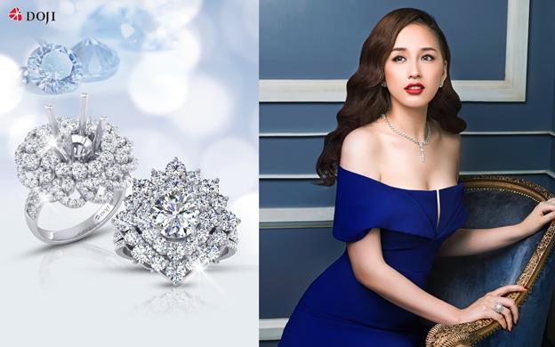 Đeo trên mình viên kim cương tinh khiết và lấp lánh như khoác lên sự kiêu hãnh và quý phái. Đó là giấc mơ của phái đẹp ở mọi thời đại