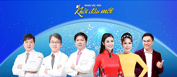 Hội đồng giám khảo- chuyên môn mùa hai gồm Tiến sĩ Hong Lim Choi; Tiến sĩ, bác sĩ Man Koon Suh; Tiến sĩ, bác sĩ Nguyễn Phan Tú Dung, Hoa hậu Ngọc Hân, Nghệ sĩ Việt Hương và MC Đại Nghĩa với vai trò dẫn chương trình(từ trái qua phải)