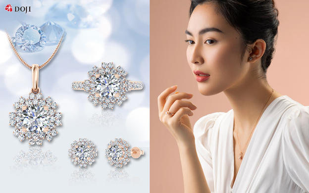 Kim cương hay những món trang sức từ loại đá quý này là một cách thể hiện phong cách riêng của phái đẹp