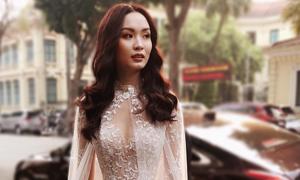 Một chiếc váy cưới mặc được 3 kiểu của cô dâu Hà Nội
