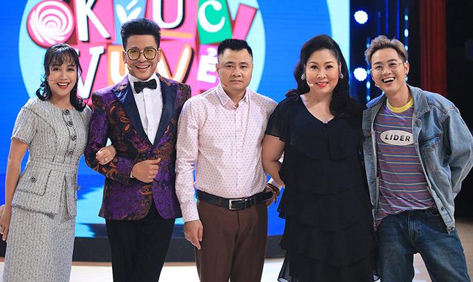 Ốc Thanh Vân và khán giả hú hét khi thấy Đan Trường trong show truyền hình - 5