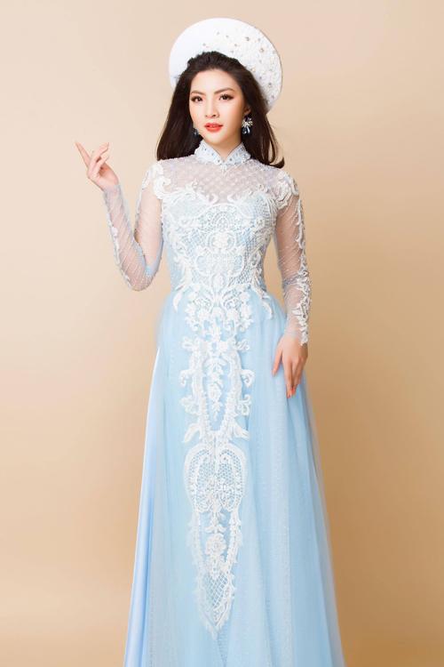Bộ ảnh được thực hiện với sự hỗ trợ của trang phục: Áo dài Minh Châu; nhiếp ảnh: Bảo Lê; trang điểm & làm tóc: Tuyết Nhi; người mẫu: Nam Thái, Thanh Thu An.