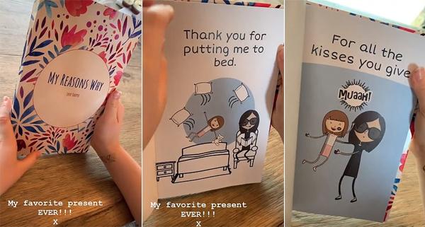 Món quà yêu thích nhất của Vic là cuốn sách tự làm